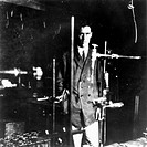Blackett (1897-1974) was the son of a stockbroker and studied physics at Cambridge. During his research he took the first cloud chamber photographs of...