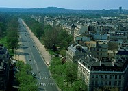 France, Paris, avenue