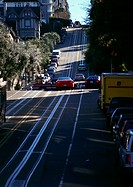 California, San Francisco, cars in street