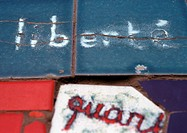 'Liberty', in french written on tiles, close-up (thumbnail)