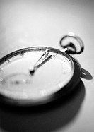 Stopwatch, close-up, b&w