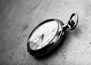 Pocket watch, b&w