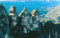The Three Sisters. Blue Mountains National Park. New South Wales. Australia