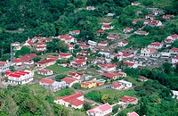Windwardside. Saba. West Indies. Caribbean