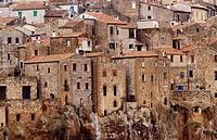Pitigliano. Tuscany. Italy