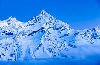 Weisshorn. Zermatt. Matterhorn Region. Switzerland