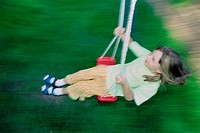 Girl on swing (thumbnail)