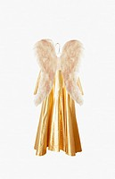 Angel costume on hanger (thumbnail)