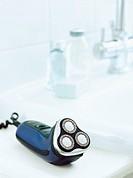 Electric Razor on a Sink