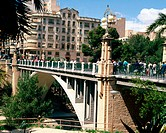 Canalejos bridge. Elche. Alicante province, Spain
