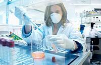 Biotechnology laboratory