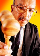 Judge with Gavel (thumbnail)