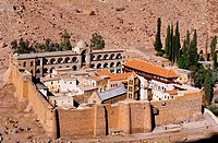 St. Catherine´s Greek Orthodox monastery in Sinai. Egypt