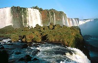 Foz de Igazu. Igazu Waterfalls National Park. Brazil