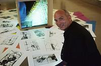 Yann Kersalé, French artist, 1997