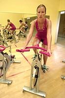 Fitness studio, Spinning