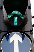 Traffic light. London. England