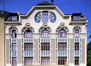 Ü - SG A, Architektur, Gebäude,  Mehrfamilienhaus, Mietshaus mit Jugendstil Fassade, restauriert, Ainmiller Strasse 22,  München, Schwabing,