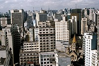 Geografie, Brasilien, Sao Paulo, Stadtansicht