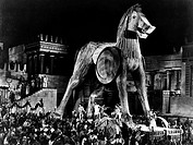 Film ´Die schöne Helena´ (Helen of Troy) Regie: Robert Wise, USA 1955, Szene   Historienfilm, Sandalenfilm, griechische Mythologie, Illias, trojanisch...