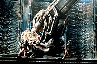 Film: ´Alien´ GB 1979. Dir: Ridley Scott. Film scene