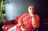 Gabriel García Márquez, Colombian writer, 1990