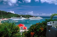 Havensight. Saint Thomas. US Virgin Islands. West Indies. Caribbean