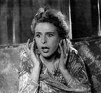 Film ´Tiefland´ Deutschland 1940, Regie: Leni Riefenstahl, Georg Wilhelm Pabst,  Szene mit Leni Riefenstahl      portrait, frau schreiend, schrei, ent...