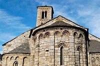 Santa Maria de Taüll Church (12th century). Boi Valley, Lleida province. Catalunya, Spain