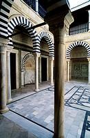 Zaouia Sidi el Ghariani mosque. Kairouan. Tunisia