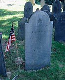 Grave of Captain Daniel MacKey (Army U.S.) Massachusetts, USA