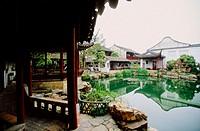 Herbs garden. Suzhou. Kiangsu province, China