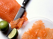 Carved Salmon Fillet