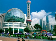 International  Convention Centre  & TV Tower, Shanghai, China