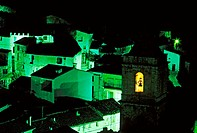 Penyagolosa at night. Castellon province, Spain