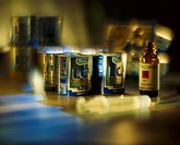 Crime, yogurt cup, poison vial, shot, food, milk product, yogurt, glass bottle, poison, Strichnin, shot, threat, danger, crimes, food poisoning, extor...