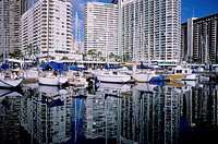 Travel, United States of America, Hawaii, Ala Wai Yacht Harbour