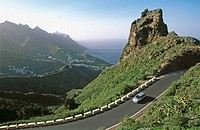 Road to Taganana. Tenerife. Canary Islands. Spain