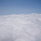 Environment & Nature, Weather, Sky, Clouds, Aerial view above clouds