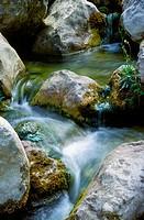 Matarraña river, Ports de Beseit National Park. Tarragona province, Spain