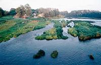 Venta river. Kuldiga. Latvia