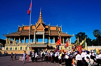 Chinese New Year celebration at Royal Palace, Cambodia
