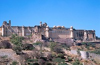 Amber Fort. Jaipur. Rajasthan. India