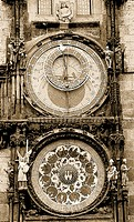 10760566, Old Town, astronomical clock, watch, architecture, building, building, construction, history, historical constructio