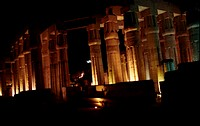 Ancient  Luxor Temple at Night