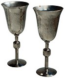Bride and Groom Wine Goblets