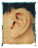 man´s ear
