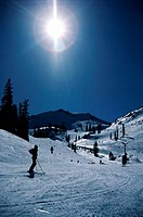 Skiing, Squaw Valley, California
