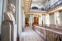 A bust of Jose Martí stands watch in one of the galleries of the Museum of the Revolution (Museo de la Revolucion) in Havana. Cuba