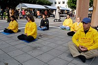 Falun Gong in Stockholm